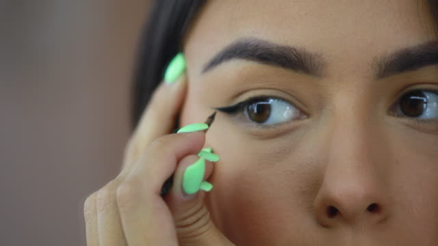 precise make-up work - accuracy stock videos & royalty-free footage