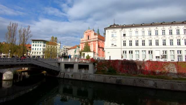 vídeos y material grabado en eventos de stock de plaza preeren-ljubljana, eslovenia - aumento digital
