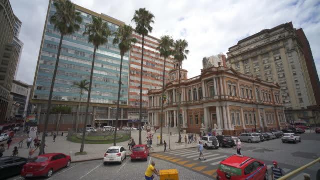 prefeitura municipal de porto alegre, southern brazil - rio grande do sul state stock videos and b-roll footage