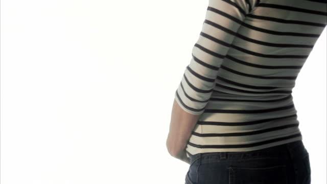 A pregnant woman Sweden.