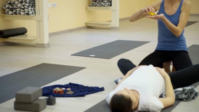 Pregnant Women Exercise Yoga