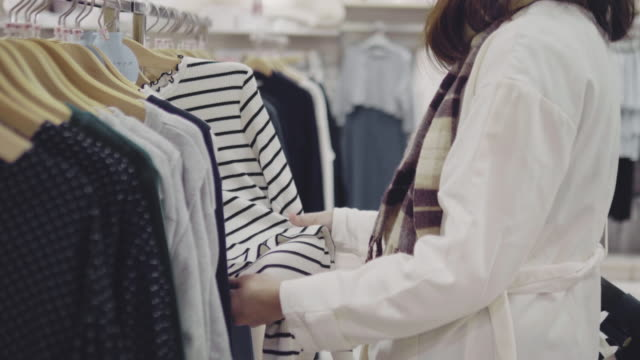 pregnant women shopping in shopping mall. - maternity wear stock videos & royalty-free footage