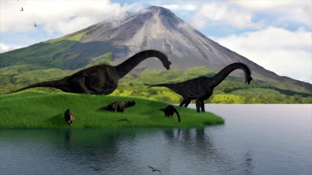 prehistoric scenery
