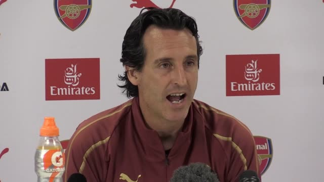 Prematch press conference with Arsenal manager Unai Emery ahead of their match against Cardiff he also gives his reaction to the Europa League draw...