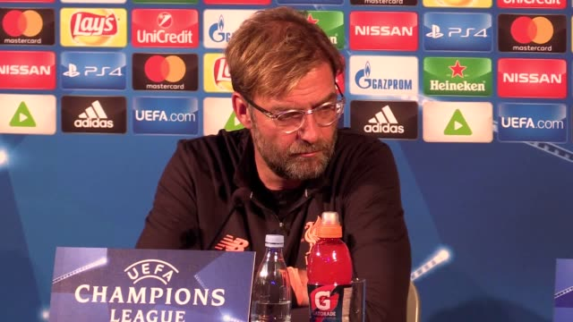 Prematch press conference with Liverpool manager Jurgen Klopp and defender Dejan Lovren ahead of their Champions League group match against Maribor