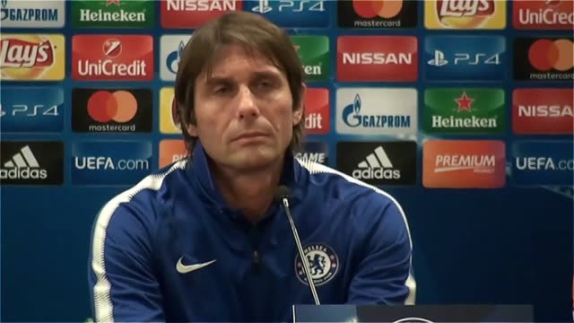 Prematch press conferences with Chelsea manager Antonio Conte and striker Alvaro Morata ahead of their Champions League tie against Roma on October 31