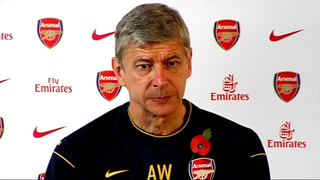 Arsenal press conference Arsene Wenger Wenger press conference SOT Derby means much to both clubs / Talks about situation at top of league / Nobody...