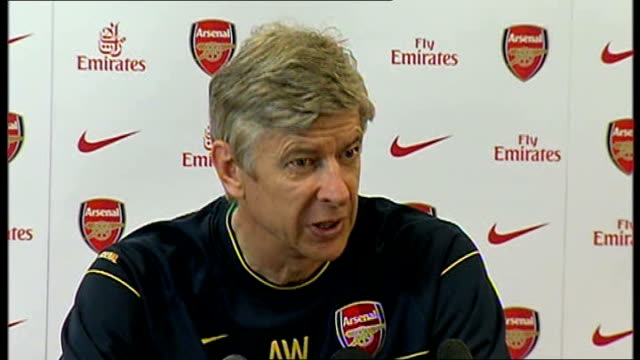 Arsenal Wenger press conference Wenger press conference SOT Talks about the 44 draw with Liverpool at Anfield / Game is played at high pace so...
