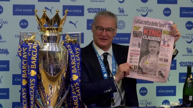 Premier League champions Leicester City sacked manager Claudio Ranieri the club announced on Thursday