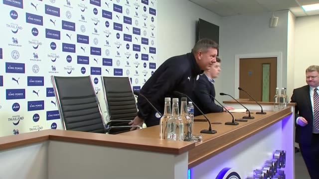 leicester city sack manager claudio ranieri; premier league: leicester city sack manager claudio ranieri; england: leicester: int craig shakespeare... - hand on heart stock videos & royalty-free footage