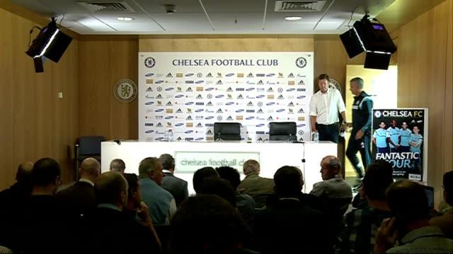 premier league matches 1582014 london cobham training ground photography*** jose mourinho into press conference - cobham training ground stock videos and b-roll footage