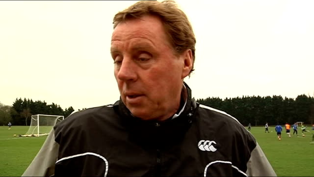 plans to play some matches abroad; england: ext harry redknapp interview sot - ハリー レッドナップ点の映像素材/bロール