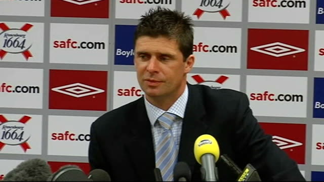 Sunderland Niall Quinn press conference following resignation of Roy Keane Quinn press conference SOT There was huge pressure on Keane and though...