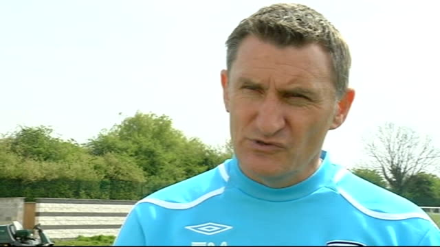 Tony Mowbray interview ENGLAND Midlands West Bromwich EXT Tony Mowbray interview SOT Talks about the season as a whole and how it's been tough Says...