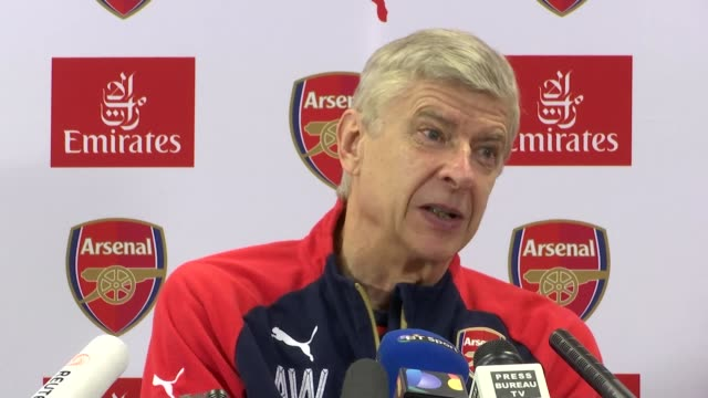 stockvideo's en b-roll-footage met weekend preview arsene wenger press confernece sot they could not be impartial because they have an emotional link to the club that has nothing to do... - schakel
