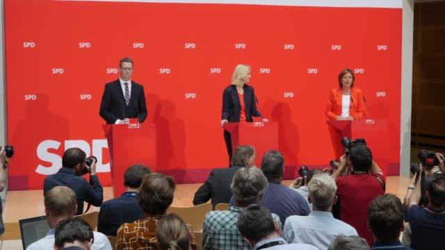 Premier of Mecklenburg Vorpommern Manuela Schwesig RhinelandPalatinate's State Premier and deputy leader of the Social Democratic Party Malu Dreyer...