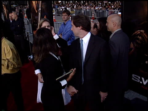 premiere at the 'swat' premiere on july 30, 2003. - s.w.a.t. film title stock videos & royalty-free footage