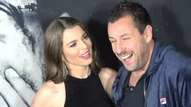 premiere of a24's uncut gems on december 11 2019 in hollywood california - adam sandler stock videos & royalty-free footage