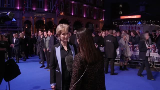 premiere of another mother's son in london's leicester square. gvs of ronan keating and his partner, jenny seagrove, julian kostov, izzy... - ronan keating stock videos & royalty-free footage