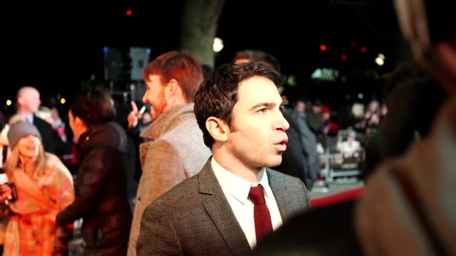 premiere of ben affleck's film live by night in which he stars alongside sienna miller interview with affleck who claims that miller accused him of... - ben affleck stock videos and b-roll footage