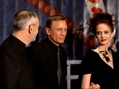 premiere of casino royale takes place in beijing with new bond daniel craig in attendance various of craig on stage with others / craig signing large... - casino poster stock videos & royalty-free footage