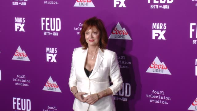 CLEAN Premiere Of FX Network's 'Feud Bette And Joan' in Los Angeles CA