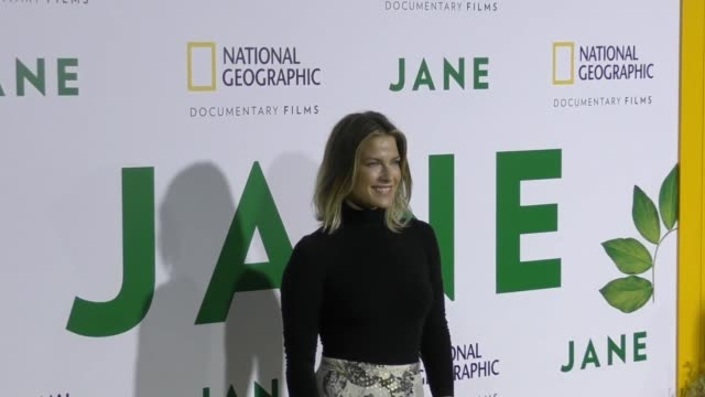 clean premiere of national geographic documentary films' 'jane' at the hollywood bowl on october 09 2017 in los angeles california - ali larter stock videos and b-roll footage