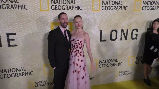 clean premiere of national geographic's 'the long road home' on october 30 2017 in los angeles california - arnold schwarzenegger stock-videos und b-roll-filmmaterial