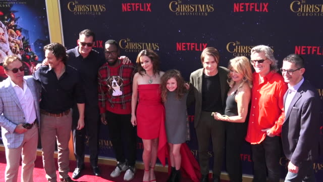 Premiere Of Netflix's The Christmas Chronicles at Fox Bruin Theater on November 18 2018 in Los Angeles California