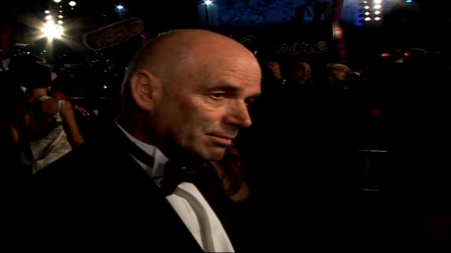 Premiere of new James Bond film 'Casino Royale' Martin Campbell speaking to press SOT On challenge of adapting first Ian Fleming novel