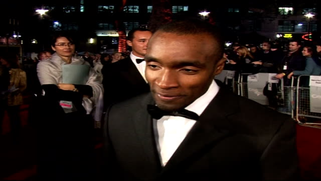 Premiere of new James Bond film 'Casino Royale' Sebastien Foucan speaking to press SOT On length of time it took to do Parkour sequence/ On working...