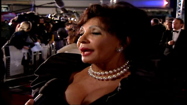 Premiere of new James Bond film 'Casino Royale' Shirley Bassey speaking to press SOT On anticipation of new 007/ I knew there was something I'm glad...