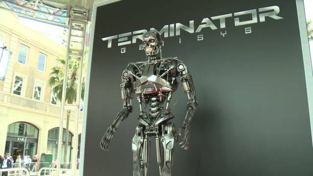 """premiere of paramount pictures' """"terminator genisys"""" at dolby theatre on june 28, 2015 in hollywood, california. - terminator stock videos & royalty-free footage"""