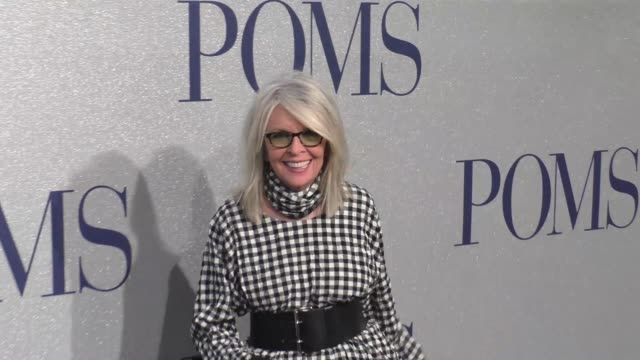 premiere of stx's poms on may 01 2019 in los angeles california - diane keaton stock videos & royalty-free footage