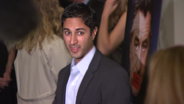 premiere of what just happened maulik pancholy at new york ny - maulik pancholy stock videos and b-roll footage