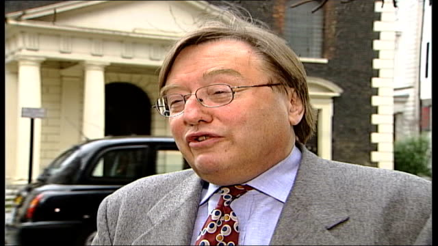 chelsea title hopes london david mellor interview sot he should remember what disraeli said it's better that people wonder why you don't speak rather... - self love stock videos & royalty-free footage