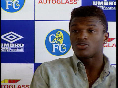 Look ahead to new season ITN Marcel Desailly intvwd Everyone wants to win
