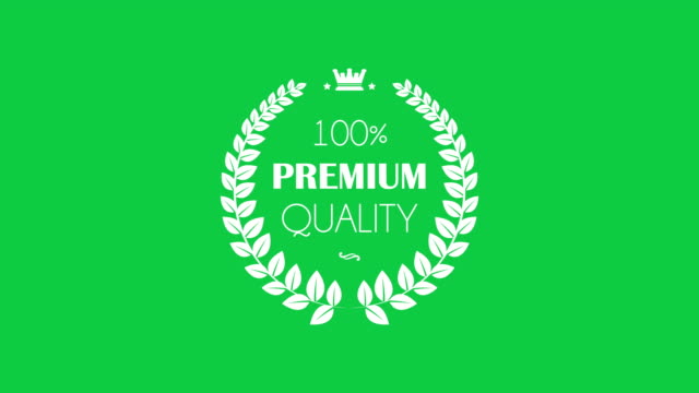 premium quality laurel wreaths set - quality control stock videos & royalty-free footage