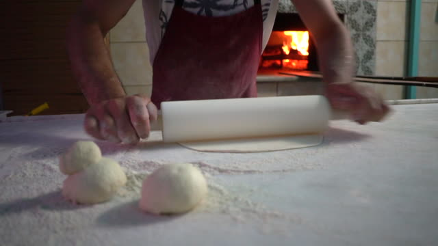 preparation of pitta bread - tortilla flatbread stock videos & royalty-free footage