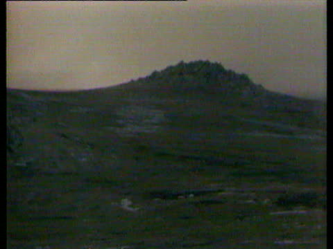 preparations for the final push to port stanley / distant firing / soldier explains the fighting of the previous night / major bill dawson emerges... - 1982 stock videos & royalty-free footage