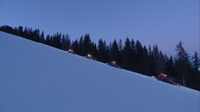 Prepare steep slopes