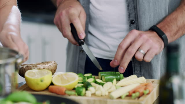 preparing a healthy and delicious meal - kitchen utensil stock videos & royalty-free footage