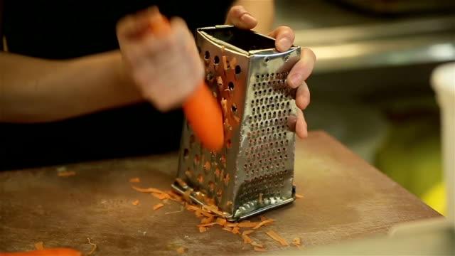 Vorbereitung der Karotte