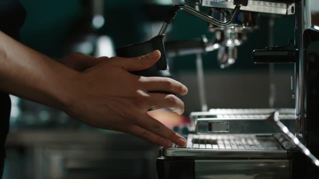 Die Vorbereitung Kaffee