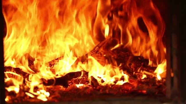 preparing fire with wood in a clay oven - kiln stock videos and b-roll footage