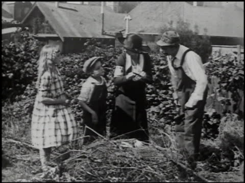 preparing for a garden: a film lesson in nature study, part 1 - 2 of 12 - see other clips from this shoot 2394 stock videos and b-roll footage