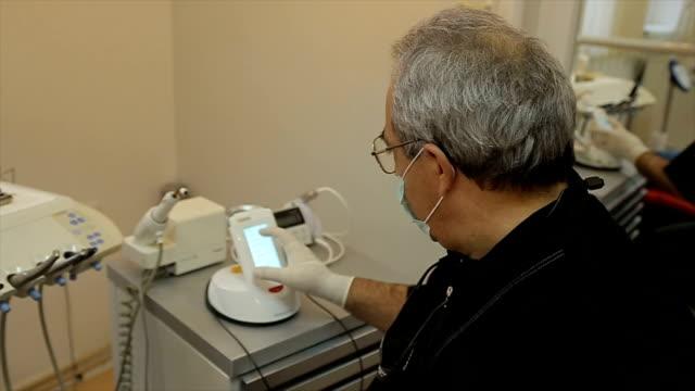 Preparing for dental laser medical procedure