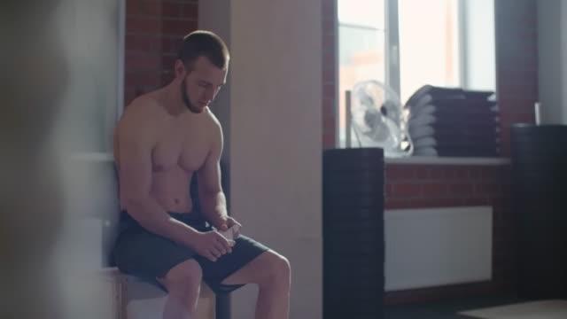 Preparing for gym training