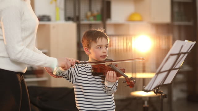 preparing for my first concert - violin stock videos & royalty-free footage