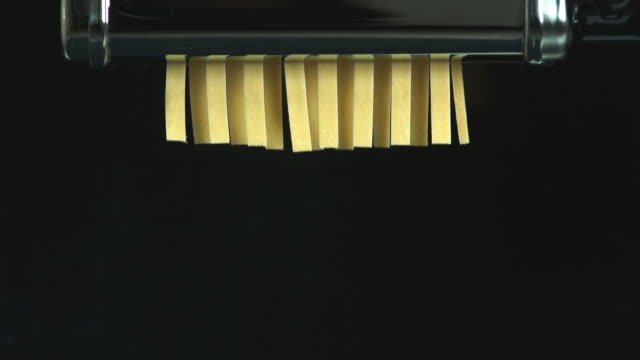 preparing home made pasta (4:2:2@100 mb/s) - selbstgemacht stock videos & royalty-free footage